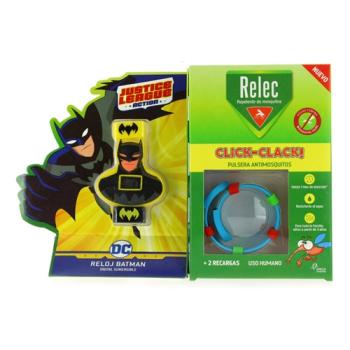Relec pulsera antimosquitos REGALO Reloj Batman