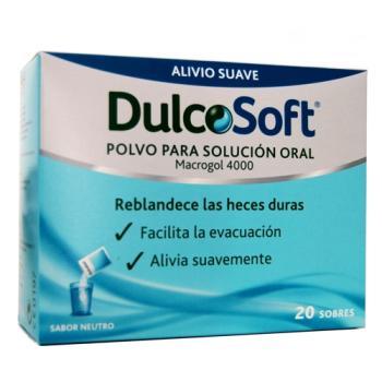 Dulcosoft - Polvo Para Solución Oral; 20sobres.