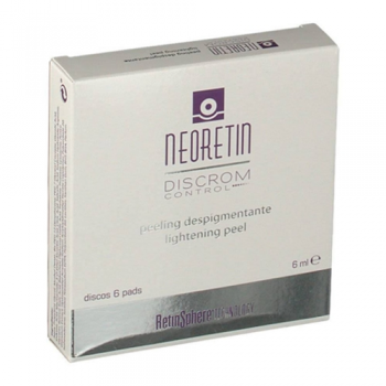 Neoretin Discrom  Peeling Despigmentante, 6 Discos.