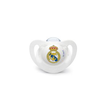 Nuk Chupete Real Madrid, 6-18m, Silicona, 1Un.