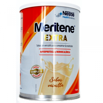 Meritene Extra 450 gr, Complemento Dietético Sabor Vainilla.