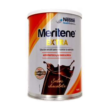 Meritene Extra - Complemento Dietético; 450 gr. Sabor Chocolate.