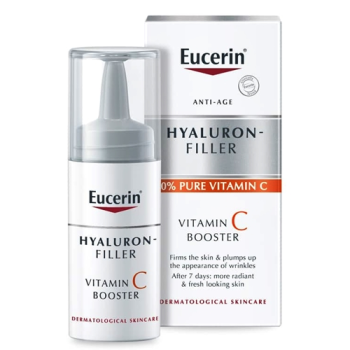 Eucerin Hyaluron Filler - Vitamin C Booster; 3 x 8 ml.