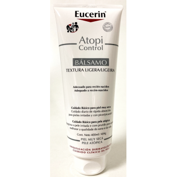 Eucerin Atopi Control Bálsamo Textura Ultraligera - 400ml.