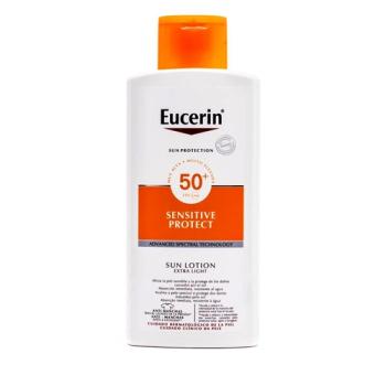 Eucerin |Protector Solar|Loción Extra Light, Spf50+| 400 ml.