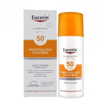 Eucerin |Protector Solar|Photoaging Control Fluido Spf50+| 50 ml.
