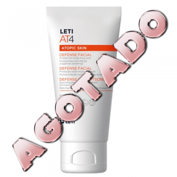 Leti AT4 Defense 50ml Spf50+, Protector Solar Facial.