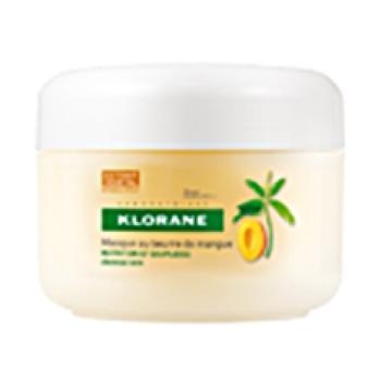 Klorane -  Mascarilla Nutritiva y Reparadora Mango; 150 ml