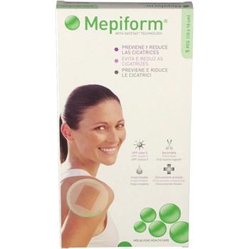 Mepiform Reductor de Cicatriz  Silicona Lámina 10x18cm . - 5Un.