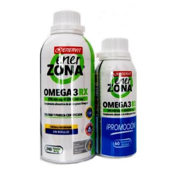Enerzona - Omega 3RX1gr; 240capsulas. Regalo 60capsulas.