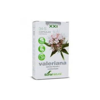 Soria Natural Nº34-S valeriana,60capsulas