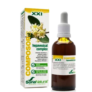 Soria Natural Composor 03 Hepavesical Complex, 50 ml.