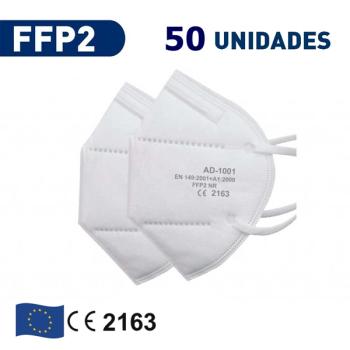 Mascarilla FFP2 FIRS PROTEC  Mascarilla FFP2 homologación Europea  Caja de 50Un.