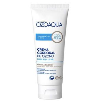 Ozoaqua Crema Corporal de Ozono, 200ml, Hidratante Calmante Regeneradora.