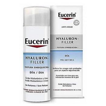 Eucerin Hyaluron Filler - Crema de Día Textura Enriquecida - 50 ml.